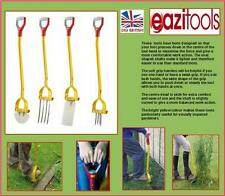 Garden Spade Fork Edger Weeder Unique British Made Light  Strong Plus Free Gift