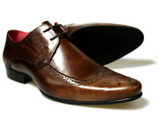 Red Tape Roden Mens Brown Leather Brogue Shoes UK size 7 - 11 RRP £45 Free P&P!