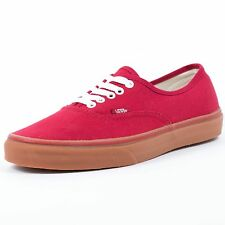 VANS AUTHENTIC GUMSOLE CHILI PEPPER VN 0U1W9V6 SKATEBOARDING OFF THE WALL 6H4