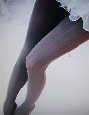LADIES GIRLS THICK WARM COLOURED TIGHTS 140 DENIER BLACK GREY WINE PURPLE NEW
