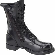 """CORCORAN 995 MENS 10"""" SIDE  ZIPPER JUMP BOOT LEATHER BLACK SIZES 8-13 U.S.A.MADE"""