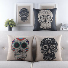 "18"" Pillow Case Pillowslip Home Room Decor Back Sofa Bed Cushion Cover 3 Choices"