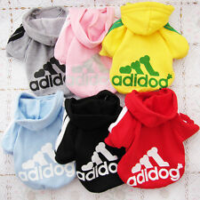 6 Color Pet Puppy Dog Cat Coat Clothes Hoodie Sweater Costumes Size S M L XL XXL