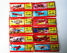 WWII Foam Flying Glider Aeroplane Air Plane Kid Toy Party Bag Gift 8/12/24/36/48