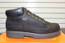 Men's LUGZ Slip Resistant Drifter Chocolate/Light Brown Size 7-13 MDRIN-2132