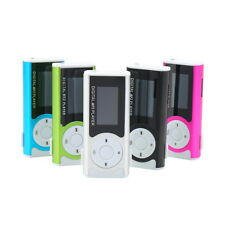 Mini USB Clip MP3 Media Player LCD Screen Support 16GB Micro SD TF LED Light F4
