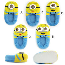 Despicable Me 2 Plush Stuffed Slippers Soft Toy Plush Minions Home Slipper Shoes