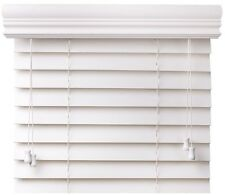 Quality & Value Priced Faux Wood Blinds - White - FREE Shipping - ON SALE NOW!
