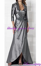 Plus Size Mother of the Bride Groom Wedding Formal Evening Gown Dresses Custom