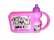 Kids Girls One Direction 1D Hard Lunch Box Lunch Box Set with Water Drink Bottle