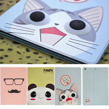 3D Sweet Gift PU cute animal stand cover folio case For Apple ipad whole series