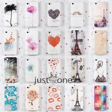 iPhone 4/ 4S 5/5S Mode Prints Hard Skin Case Cover Back Protector housses coques