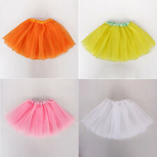 10Cs Girls Tutu Dress Pleated Princess Toddler Baby Party Dancewear 3-8Y Costume