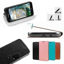 Brand MOFI Slim Steel Plate PU Leather Stand Case Cover For lenovo phones
