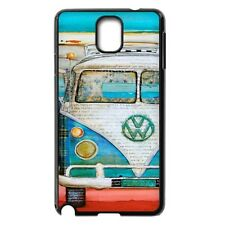 Custom Vintage Volkswagen VW Van Bus For Samsung Galaxy Note 3 Note 2 Case Cover