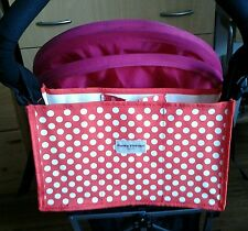 stylish universal baby buggy stroller organiser bag,cup holder fits bugaboo-new!