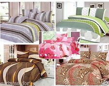 DOUBLE 3 PCS  BEDDING SET TIGER DUVET COVER PILLOWCASES AMAZING FOR YOU !!