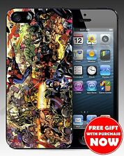 New Marvel Superhero Hard Case For Iphone 4 / 4s / 5 / 5s + Free Gift