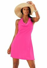 8615  PLUS SIZE 1 Pc Pink Convertible Swimsuit Assorted Sizes Available