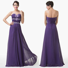 2014 CHEAP~Long Chiffon Formal Evening Party Gown Bridesmaid Homecoming Dresses