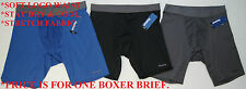 Reebok Men's Athletic Boxer Brief New Tags Stretch Underwear S M L XL Retail $20