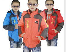 Puffer Jacket Kids Clothes Boy Sport Waterproof Outwear Outfit Thick Coat Winter