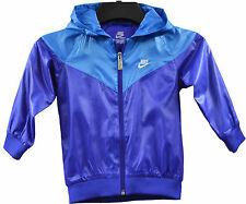 Nike Hoody Kids Infant Baby Girls/Boys Thin Purple Blue Jacket