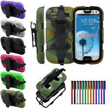 Shockproof Waterproof Survivor Military Case For Samsung Galaxy S3 4 5 Note 3