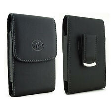Vertical Leather Case Pouch for Cell Phones COMPATIBLE WITH Otterbox Defender