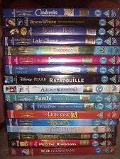 WALT DISNEY PIXAR DVD collection for Sale 1 and 2 Discs