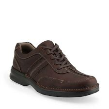 CLARKS SLONE MENS  BROWN LEATHER STYLE # 82469