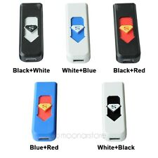 USB Rechargeable Flameless Cigar Cigarette Electronic Lighter No Gas Free Ship
