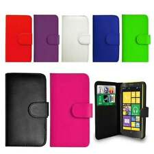 Flip Wallet Leather Case Cover For Nokia Lumia Phones Free Screen Protector
