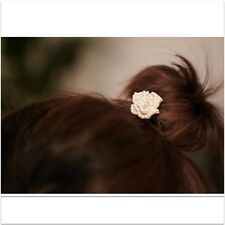 Lovely  Full Pearl with Rhinestone Rose Hair Stick Accessories