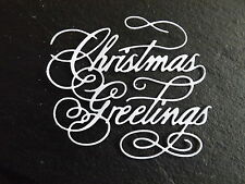 10 Tattered Lace die cuts CHRISTMAS GREETINGS