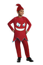 Blinky-Red Ghost-Pac Man Video Game-Deluxe Boys-Child Fancy Dres Costume S, M, L