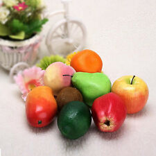 Hot 1/5/10pcs Large Artificial Fake Fruits Apple Plastic Fruits Home Party Decor