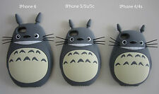 3D My Neighbour Totoro Anime Soft Silicone Mobile Phone Case Cover Protector