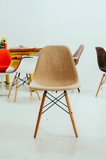 Eames Style DSW WEAVE Side Dining Chair  - Mid Century Modern
