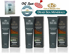 Mud Mask with Aloe Vera & Dead Sea Minerals ,for ALL Skin Types, Lot Option,C&B.