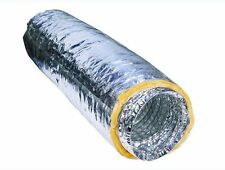 BNIB Aluminium Foil Insulated Flexible Ducting - Ventilation and Hydroponics