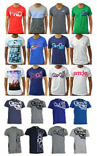 New Mens Gio Goi Ellesse Fila Casual T Shirt Polo Retro Printed Cotton Top Tee