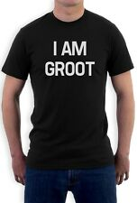 I Am Groot T-Shirt you are We Are groot Galaxy Movie MEME Sci Fi Rocket Tee