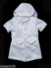 Baby, Toddler Boy, Communion, Christening Baptism Outfit Size From Small to 4T
