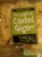 2-10x Trader Joe Uncrystallized or Crystallized Candied Ginger 8 oz each Sweet