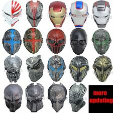 DIFFERENT Templar Mask CS Full Face Protection Cosplay Outdoor Paintball Airsoft