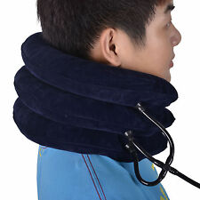 Cervical Neck Traction Device Shoulder Headache Relax Brace Support Pillow