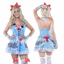 Alice in Wonderland Costume Halloween Sexy Ladies Size 6 to PLUS SIZE