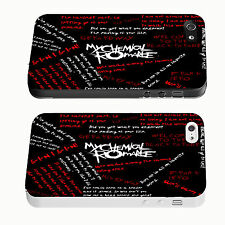 MY CHEMICAL ROMANCE MCR IPhone 4 4S 5 5S 5C 6 Black White Phone Hard Cover Case