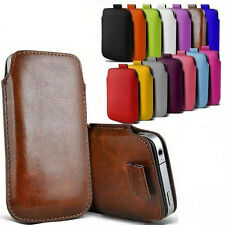 "Vintage Leather Thin Pocket Pouch/Sleeve Case Cover For iPhone 6 4.7"" Plus 5.5''"